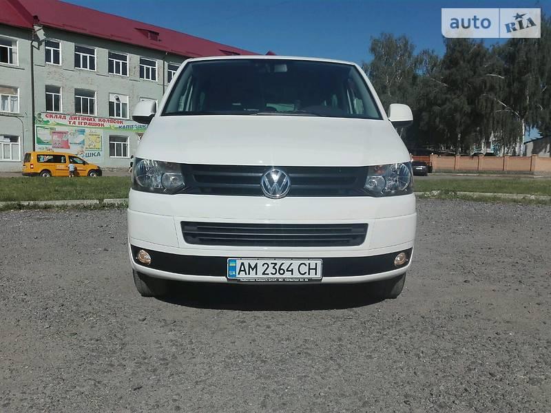 Volkswagen T5 (Transporter) пасс. 2011 в Бердичеве