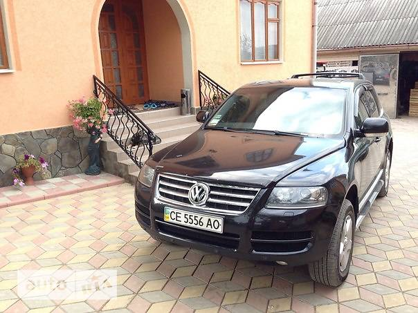 Volkswagen Touareg 2006 в Черновцах