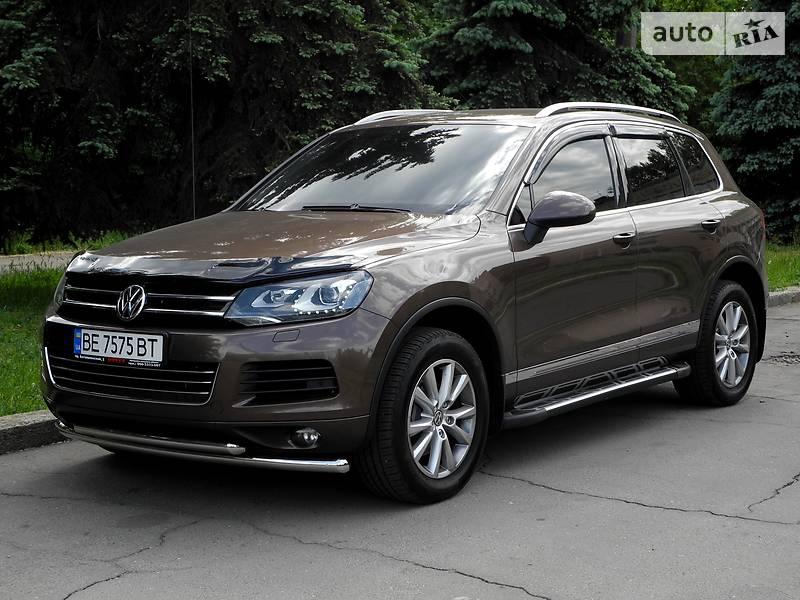 Volkswagen Touareg 2014 года