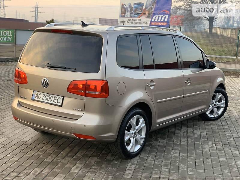 Volkswagen Touran 2011 в Мукачево