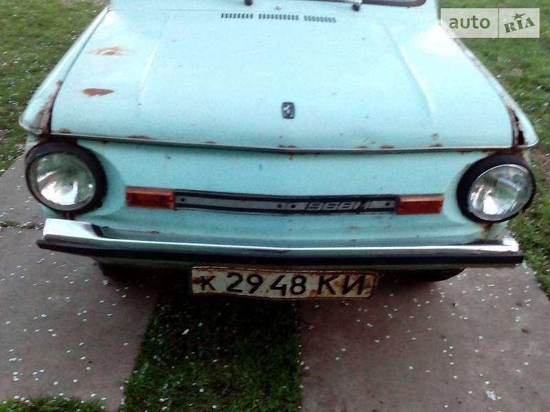ЗАЗ 968 1987 в Киеве