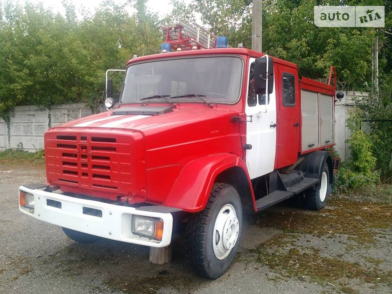 Пожежна машина ЗИЛ 43362 2004 в Харкові