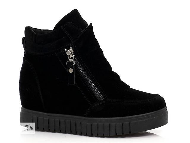 купить бу 05-10 Черные женские ботинки модель Nasifa в Киеве. Подкатегория Женская  обувь ... 2cae01c7fc661