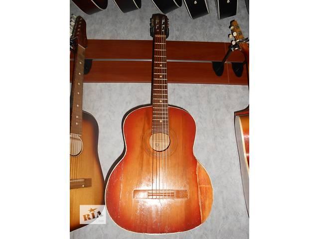 продам ( 1243 ) Черниговская шестиструнная гитара. Супер цена! и ее Видео Обзор бу в Черкассах