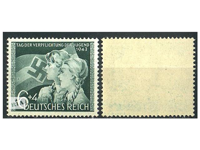 продам 1943 - Рейх - День молодежи Mi.843 ** бу в Ровно