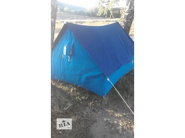 купить бу 3х-местная брезентовая палатка пр-ва СССР в Виннице