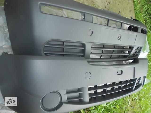 бу 2001 - 2012 роки Бампер( Бампера ) Передній Опель Віваро Виваро б/у Детали кузова Бампер передний Легковой Opel Vivaro в Бориславе