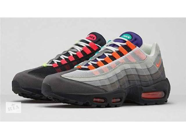 продам 3 цвета Кроссовки мужские Nike Air max 95 бу в Харькове