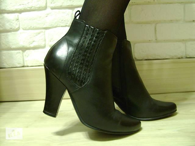 купить бу Демисезонные кожаные ботинки американского бренда Hush Puppies в  Никополе (Днепропетровской обл.) b2a1ec3516ace