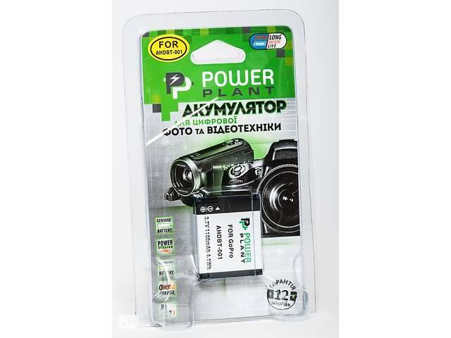 купить бу Аккумулятор для экшн-камер GoPro Hero, Hero 2: PowerPlant GoPro AHDBT-001 Art. vikr-21733075 в Дубні