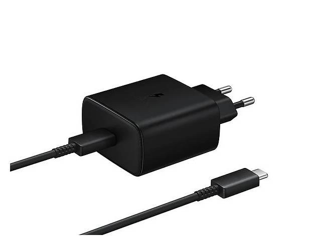 продам Сетевое зарядное устройство Samsung 45W PD Wall Charger Black бу в Киеве
