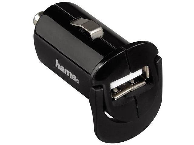 бу Автомобильное зарядное устройство Hama 1A + microUSB Cable Black в Киеве