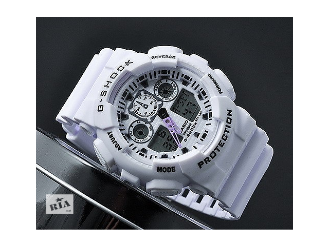 бу Акция. Часы Casio G-SHOCK GA-100 в Киеве