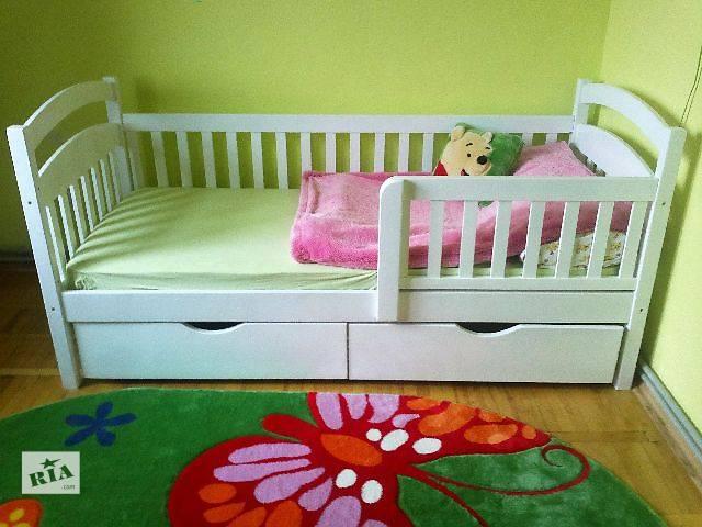 Акция! Детская кроватка с ортопедическим матрасам и с ящиками ! В наличии !!- объявление о продаже  в Киеве