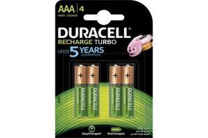 Аккумулятор Duracell AAA TURBO HR03 900mAh * 4 (5005015)