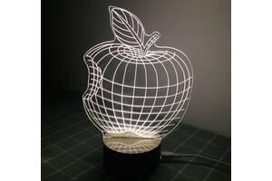 Apple Оптический обман, превращающий 2D светильник в 3D (md9040)