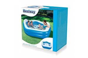Бассейн детский надувной Bestway 54153 от 6 лет, 213-207-69см