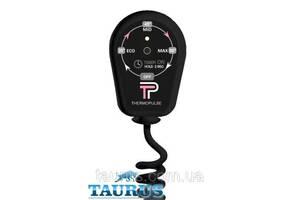Чёрный регулятор на вилке (димер) ThermoPulse Black: 3 режима + таймер 3 ч. Мощность до 400 Вт. Украина