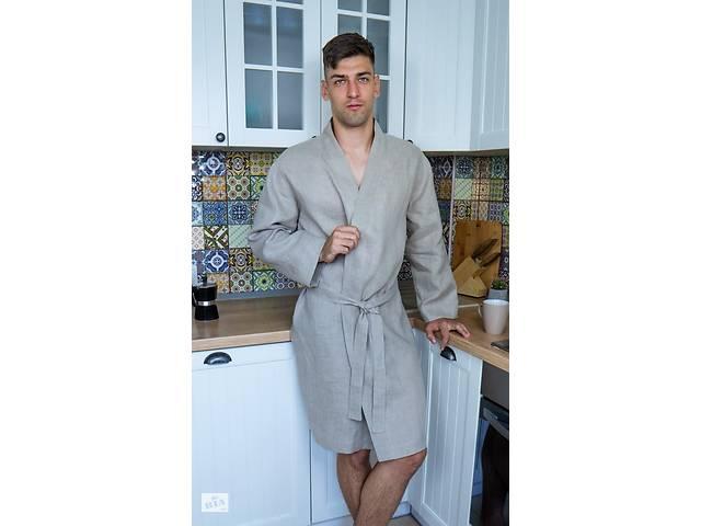 бу Чоловічий халат з натурального нефарбованого льону в Чернігові