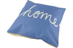 Декоративная наволочка Traum 5320-61 43х43 см голубой