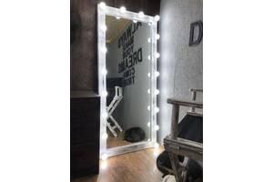 Дерев'яне дзеркало в стилі LOFT (150 см) (NS-970001066)