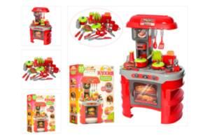 Детская игровая кухня LIMO TOY 008-908A со светом и звуком