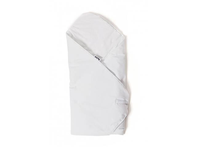 продам Детский конверт - плед для новорожденных и малышей до 6 месяцев Twins Velvet, 80x80 см., белый бу в Києві