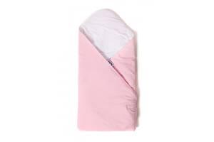 Детский конверт - плед для новорожденных и малышей до 6 месяцев Twins Velvet, 80x80 см., розовый