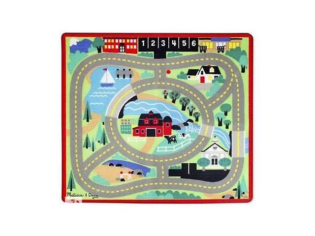 Детский коврик Melissa & amp; Doug Городская дорога с машинками (MD19400)- объявление о продаже  в Харькове