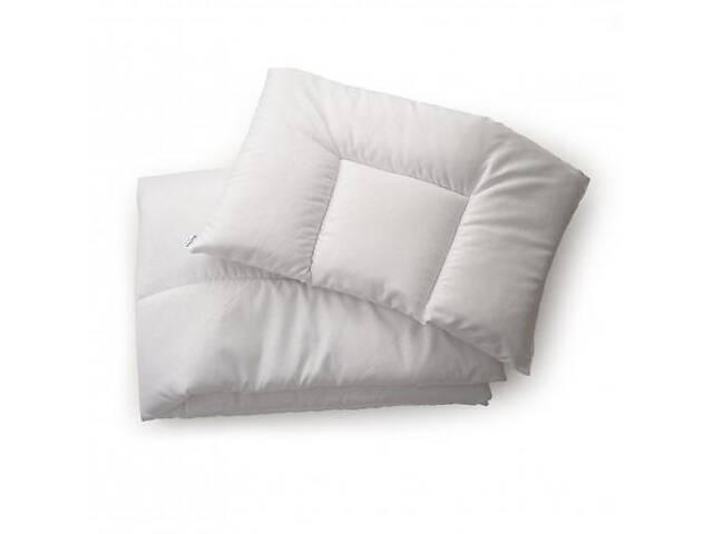 бу Детский набор демисезонный одеяло и подушка Twins Premium 300 120х90, белый. Подарок на выписку из роддома в Киеве