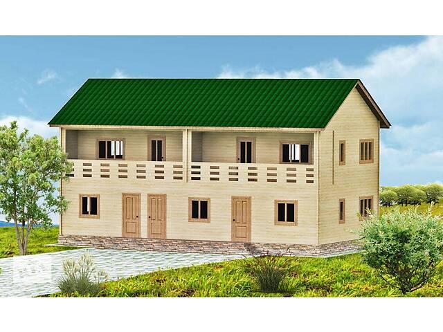 Дом из бруса 14х7 м. в Украине. Строительство деревянных домов. Скидка на домокомплекты на 2020 год- объявление о продаже  в Одессе
