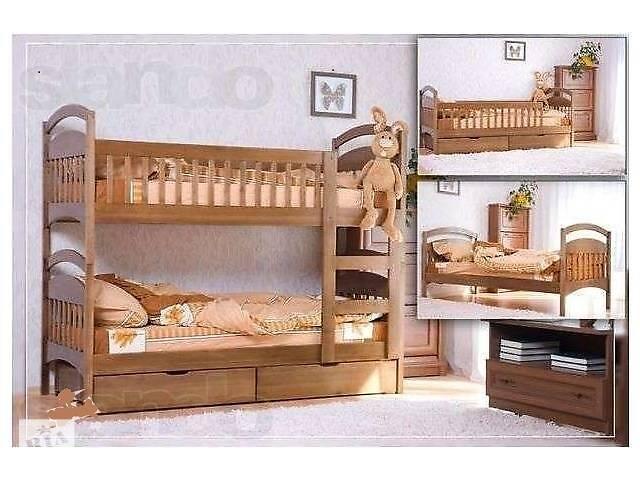 купить бу Двухъярусная кровать Карина с ящиками. в Киеве
