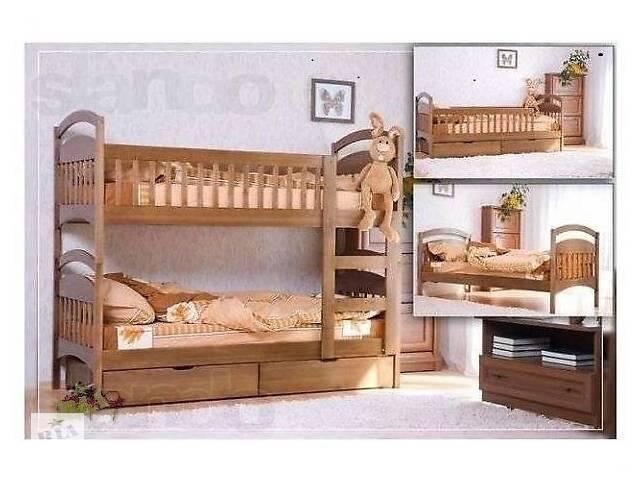 Двухъярусная кровать по акции с матрасами 6600 грн.- объявление о продаже  в Киеве