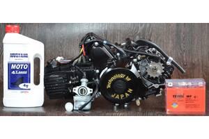 Двигатель на мопед Альфа Дельта 110 куб механика (21чмка)