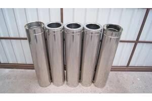 Дымоходные трубы из нержавейки различной конфигурации от производителя