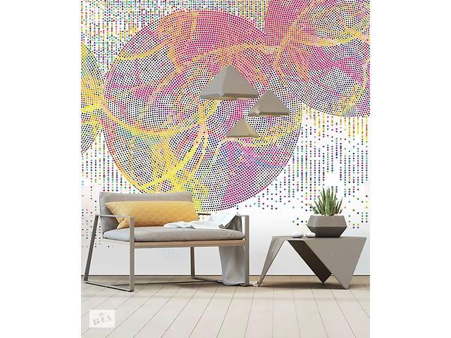 Дизайнерское структурной панно Color Dots в стиле авангард 393 см х 410 см- объявление о продаже  в Киеве