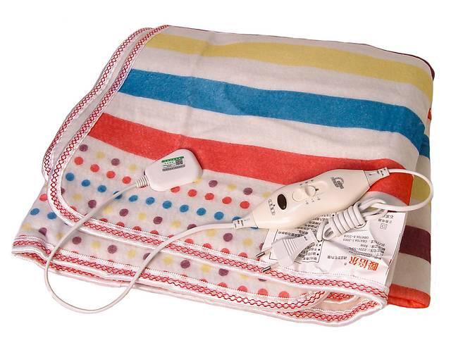 купить бу Электропростынь Electric blanket 5734 145х115 см, разноцветная в Харькове