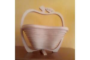 Фруктовница (яблоко) -ручная работа. Производитель-Украина.