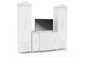 Гарнитур мебели в гостиную Мебель UA Ассоль Белль Белый Дуб (44264)