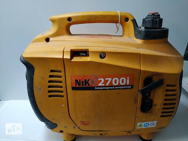 Генератор бензиновый NIK 2700i (2,2 кВт) инверторный