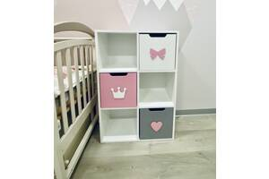 Комод детский, стеллаж в детскую комнату, детский стеллаж, детский комод, стеллаж для игрушек