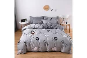 Комплект постільної білизни Дикі тварини (полуторний) Berni Home
