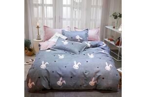 Комплект постельного белья Милый зайчик (двуспальный-евро) Berni Home