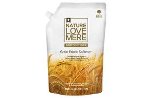 Кондиционер для детской одежды NatureLoveMere с экстрактом зерновых и ароматом мускуса, 1300 мл