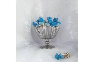 Конфетница Aurora Pasabahce 95833 ваза на ножке (цвет: ХРОМ)