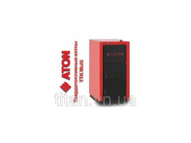 продам Котел твердотопливный Aton TTK Multi 20 + регулятор тяги бу в Виннице
