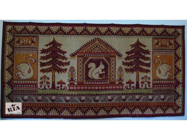 продам ковёр детский 90 на 180, советский, рисунок сказки. торг бу в Запорожье