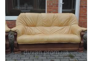 Кожаная мебель Alfa II, кожаный диван, мебель на дубе