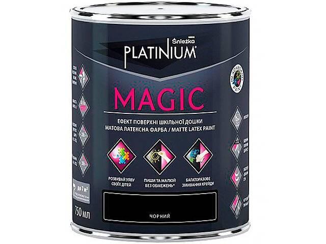 Краска Sniezka Platinium Magic черная матовая 0.75 л- объявление о продаже  в Одессе