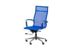 Кресло офисное Special4You Solano Mеsh Bluе (E4916)